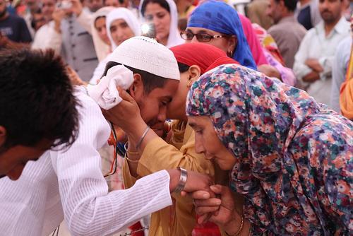 مراسم بدرقه 680 نفر از راهیان به حج تمتع – سرینگر کشمیر