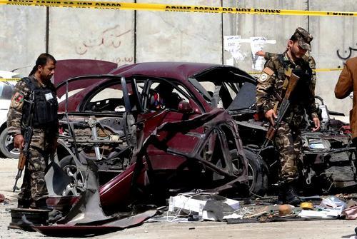 انفجار تروریستی در نزدیکی سفارت آمریکا در شهر کابل