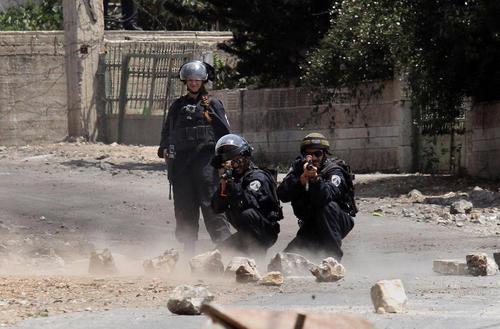 شلیک به سمت معترضان فلسطینی در نابلس