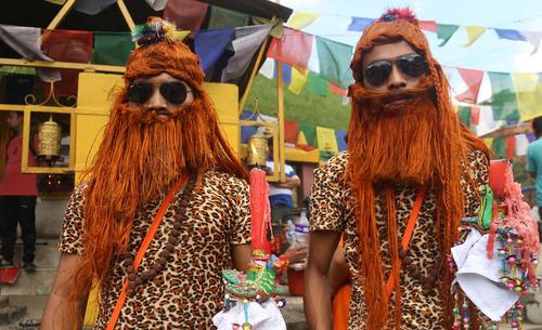 جشنواره ای خیابانی در لالیتپور نپال