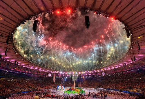مراسم اختتامیه المپیک 2016 در استادیوم المپیک ریودوژانیرو