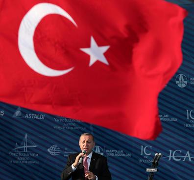 سخنرانی رجب طیب اردوغان رییس جمهوری ترکیه در آیین افتتاح سومین پل متصل کننده دو بخش آسیایی و اروپایی شهر استانبول