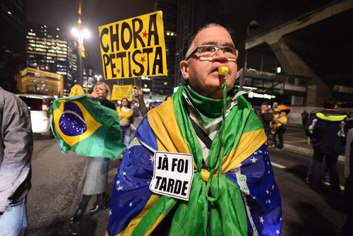 واکنش مخالفان و حامیان خانم دیلما روسف رییس جمهور معزول برزیل به خبر عزل او از سوی مجلس سنا