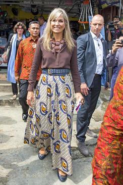 بازدید ملکه ماکسیما همسر پادشاه هلند از اندونزی – جاکارتا