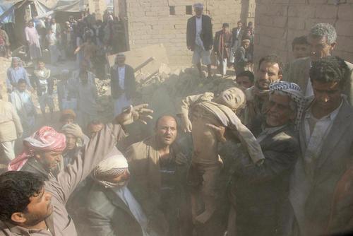 تلفات غیر نظامیان در حمله هوایی عربستان به شهر صعده یمن