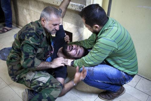 بیمارستان رازی در شهر حلب سوریه