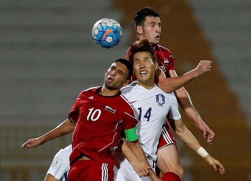 بازی دو تیم ملی فوتبال سوریه و کره جنوبی در مالزی در چارچوب مرحله نهایی مقدماتی جام جهانی 2018 روسیه – این بازی با نتیجه غیر منتظره صفر – صفر مساوی به پایان رسید
