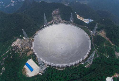 بزرگ ترین تلسکوپ رادیویی جهان تا چند روز دیگر در چین راه اندازی خواهد شد