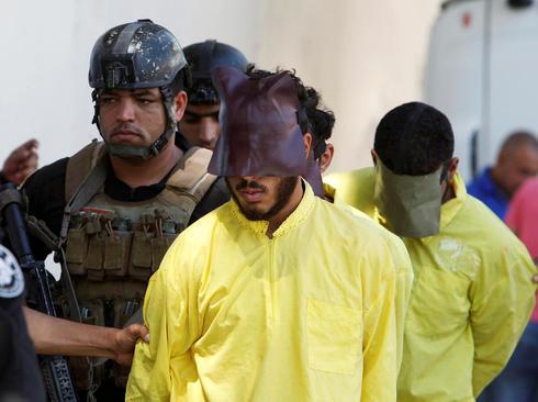 انتقال مظنونان عضویت در گروه داعش برای بازجویی – بغداد