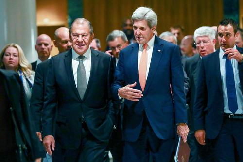 توافق وزرای امور خارجه آمریکا و روسیه بر سر آتش بس در سوریه – ژنو