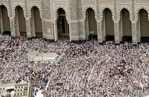 برگزاری نماز جمعه در مسجد الحرام – مکه