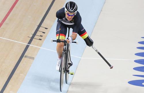 دوچرخه سوار آلمانی در مسابقات پاراالمپیک ریو