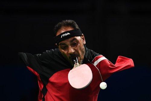 ورزشکار مصری در مسابقات تنیس روی میز پاراالمپیک ریو