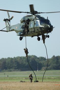 رزمایش ارتش بلژیک
