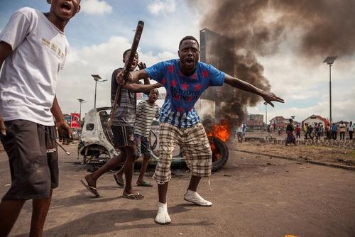 تظاهرات مخالفان دولت در جمهوری دموکراتیک کنگو