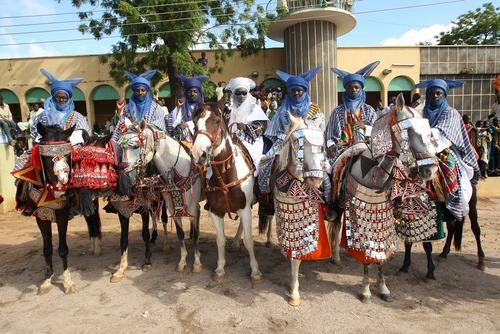 جشنواره دوربار در شهر زاریا نیجریه