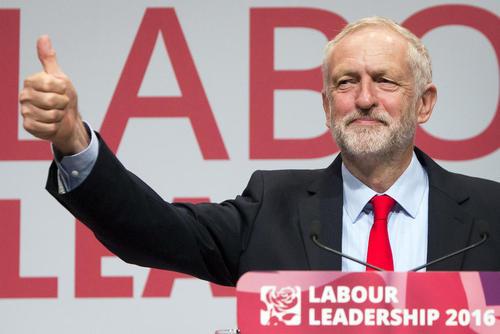 انتخاب مجدد جرمی کوربن به مقام رهبری حزب کارگر بریتانیا – لیورپول