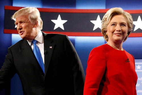 نخستین مناظره تلویزیونی دو نامزد اصلی انتخابات ریاست جمهوری آمریکا