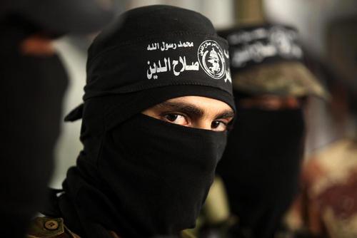 رژه گردان های شبه نظامی فلسطینی