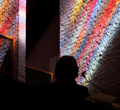 سخنرانی هیلاری کلینتون نامزد دموکرات انتخابات ریاست جمهوری آمریکا در کلیسایی در شهر شارلوت در ایالت کارولینای شمالی
