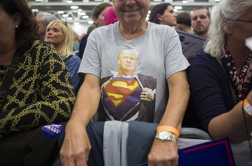 حامیان دونالد ترامپ نامزد جمهوریخواه انتخابات ریاست جمهوری آمریکا – ایالت پنسیلوانیا آمریکا