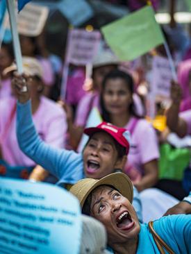 مراسم روز جهانی اسکان در بانکوک تایلند