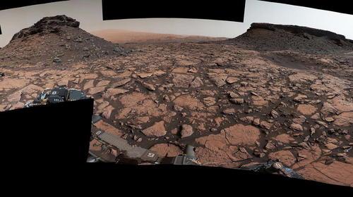 تصویر 360 درجه ای مریخ نورد