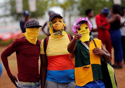 ادامه تظاهرات اعتراضی دانشجویان در آفریقای جنوبی