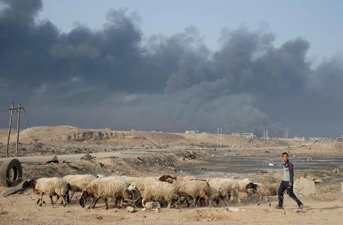جنوب شهر موصل عراق