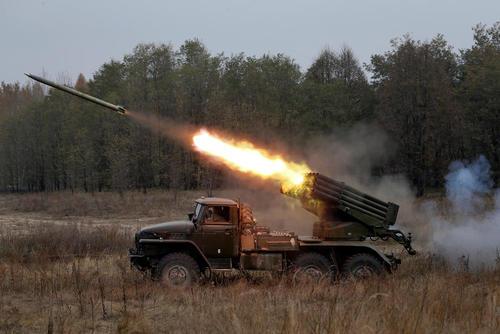 رزمایش ارتش اوکراین