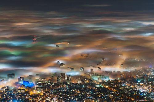 هوای مه آلود شهر صوفیه – پایتخت بلغارستان