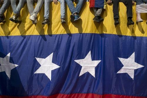 تظاهرات علیه نیکولاس مادورو رییس جمهور ونزوئلا در شهر کاراکاس