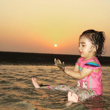 غروب خلیج فارس- امید کامیار