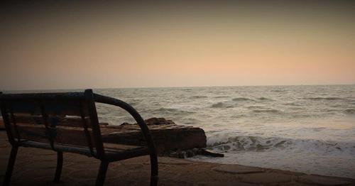 غروب خلیج فارس- امید سعیدی
