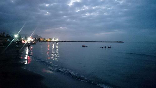 غروب ساحل رامسر- فاطمه نساجی