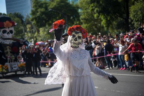 کارناوال مرگ در شهر مکزیکوسیتی