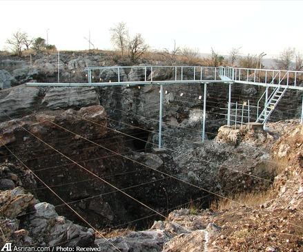 محوطه فسیل کشف شده