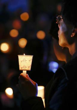 تظاهرات علیه رییس جمهور کره جنوبی در شهر سئول