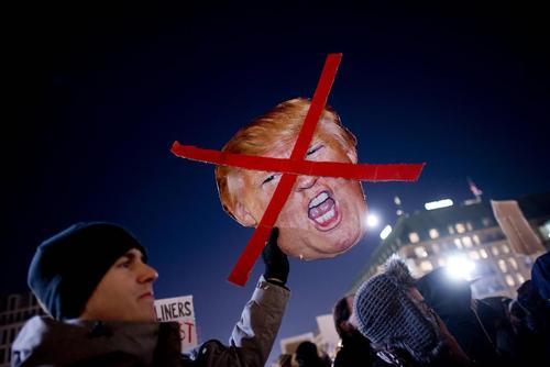 تظاهرات علیه ترامپ در برلین