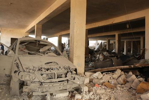 حمله هوایی به بیمارستانی در غرب شهر حلب سوریه