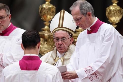 مراسم انتصاب 17 کاردینال جدید برای کلیساهای کاتولیک در مناطق آسیا، آفریقا، آمریکای لاتین و اقیانوسیه با حضور پاپ - واتیکان