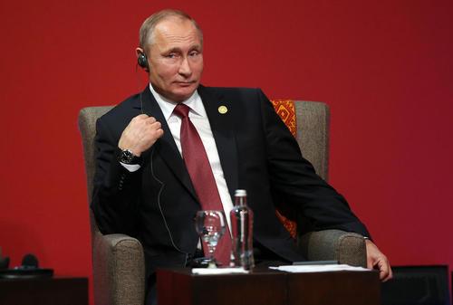 ولادیمیر پوتین رییس جمهور روسیه در نشست اپک – لیما