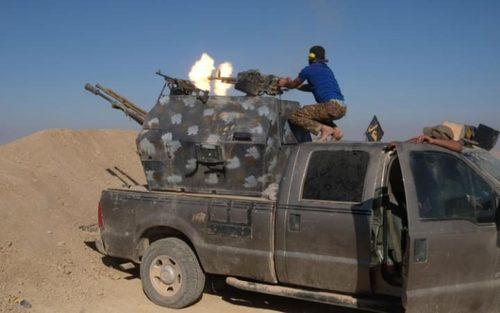 نبرد با داعش در جنوب موصل