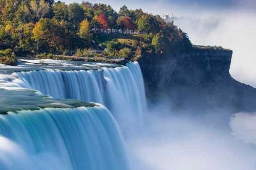 آبشار نیاگارا، نیویورک و انتاریو، 167 پا