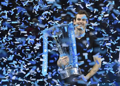 قهرمانی اندی موری تنیس باز بریتانیایی در مسابقات جهانی تنیس مردان – لندن