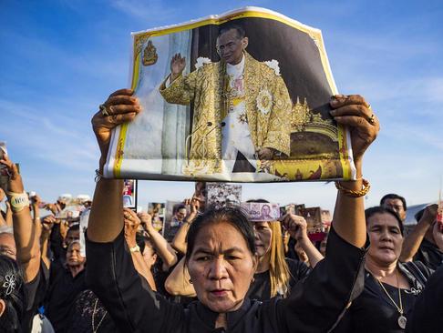 مراسم رسمی تشییع پادشاه فقید تایلند – بانکوک