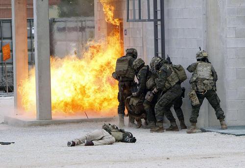 برگزاری رزمایش ضد تروریستی – اسپانیا