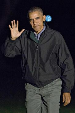 بازگشت اوباما از آخرین سفر خارجی دوران ریاست جمهوری – واشنگتن دی سی